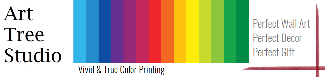vivid and true color printing at arttree.com.au