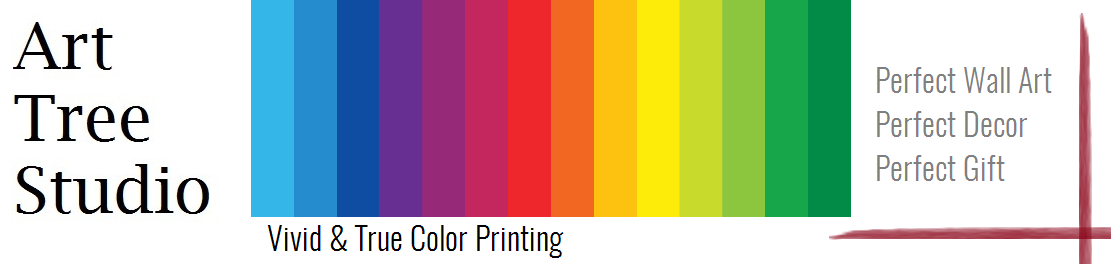 vivid and true colors printing at arttree.com.au